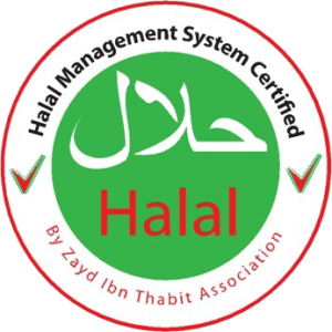 Halal Certification stamp